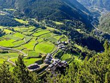 Typická krajina v Andorre