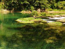 Dolný tok rieky Una