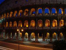 Nočné Koloseum, Rím