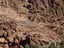 Skalné útvary v kaňone Dadés