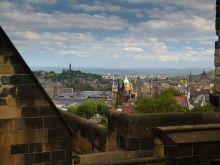 Edinburgh, pohľad z hradu