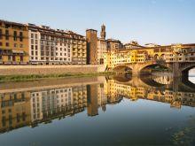 Most Ponte Vecchio vo Florencii