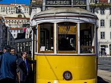Lisabon - historická električka