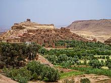 Kasba Ait Benhadou - najkrajšia pevnosť v Maroku