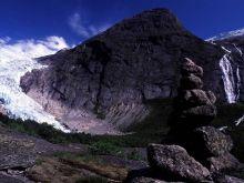 Ľadovcový splaz Jostedalsbren