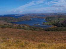 Lochinver, západné pobrežie Škótska