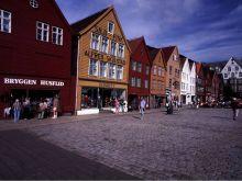 Bergen, časť Bryggen