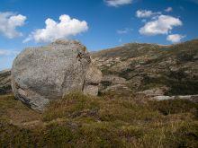 Mt. Incudine, jeden z vrcholov treku GR20