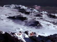 Na vrchole Kilimandžára.