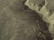 Záhadné kresby v Nazca - kolibrík
