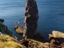 Old man of Stoe na západnom pobreží Škótska