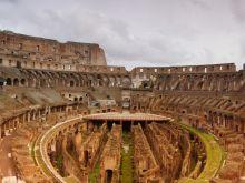 Panoráma z Kolosea, Rím