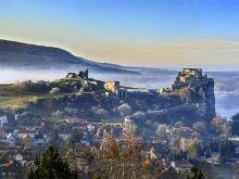 Hrad Devín na sútoku Moravy a Dunaja