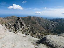 Pohľad z Mt. Incudine