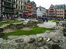 Rouen, námestie na ktorom upálili Johanku z Arku