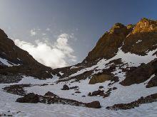 Vysoký Atlas, oblasť Jebel Toubkal, cca 4200 m n. m.